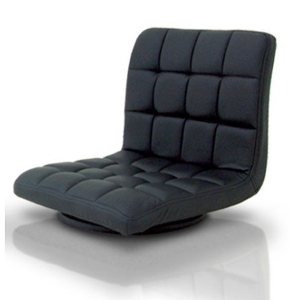 Dessen Swivel Sitting Cushion Floor Chair Leatherette Japanese