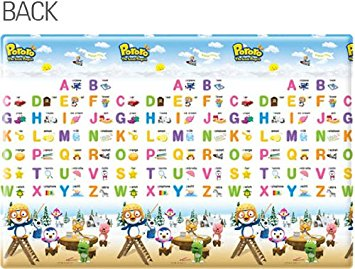 Parklon Soft Playmat Pororo Alphabet Magic Carpet
