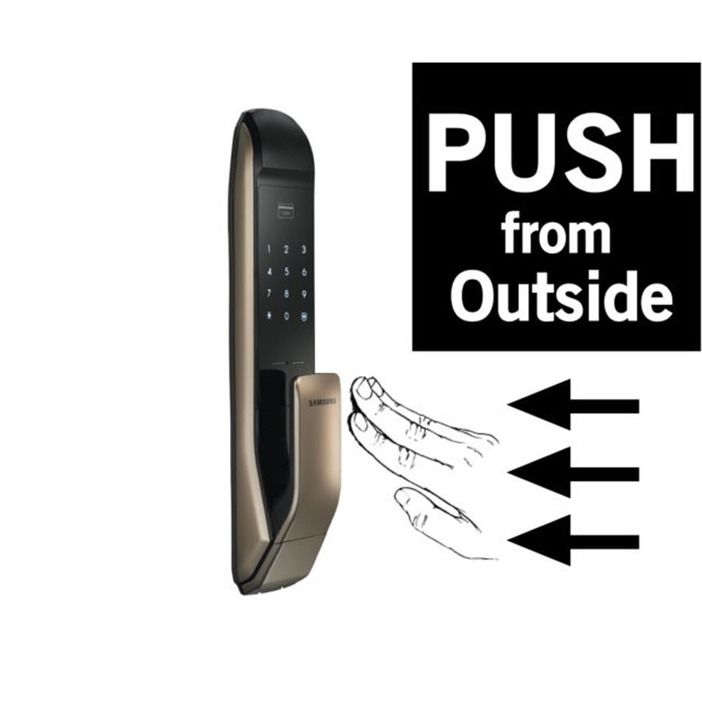 Samsung Shp Dp820 Digital Smart Door Lock W Key Tags