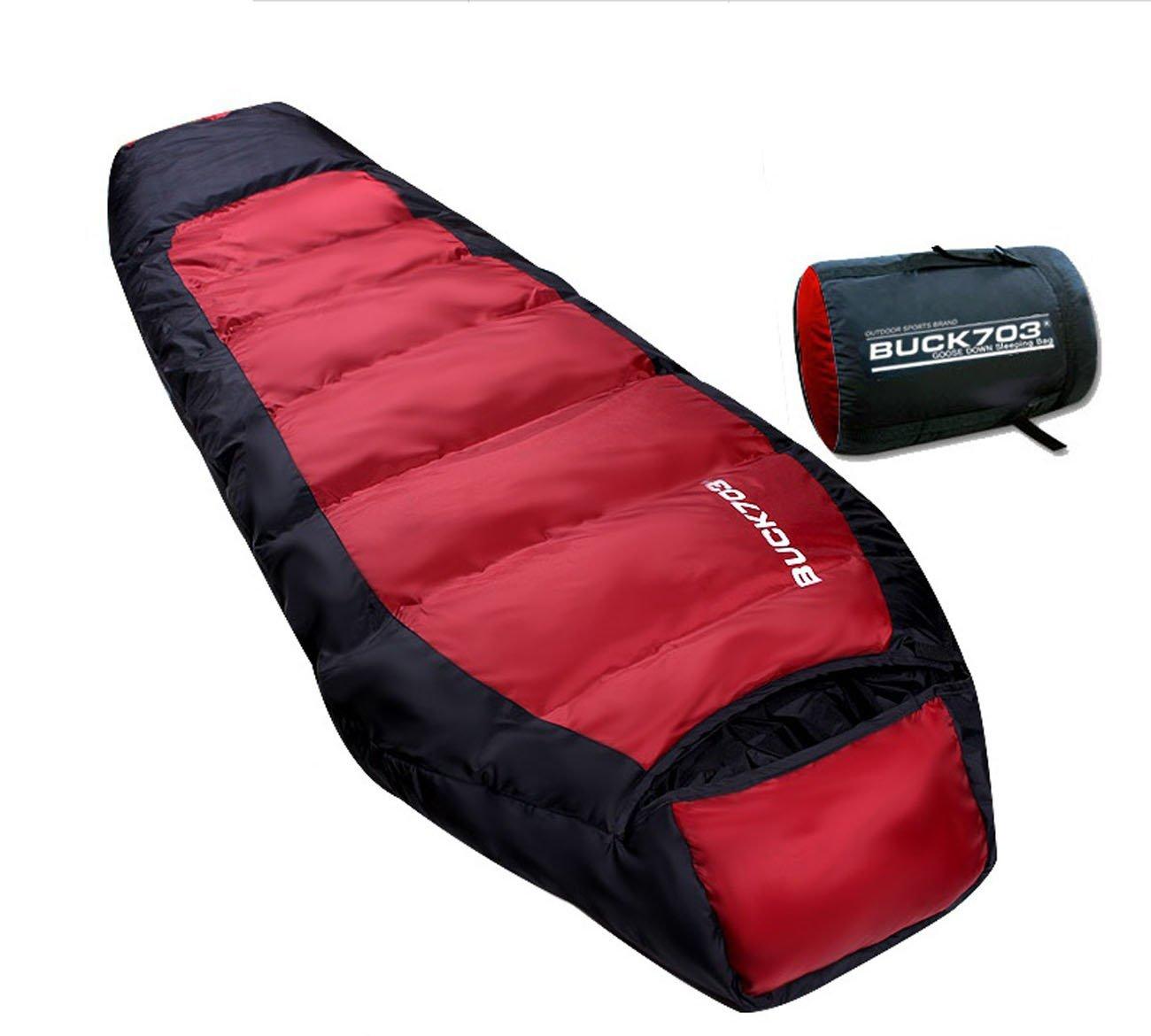 Buck703 Goose Duck Down Sleeping Bag Cold Winter Outdoor ...