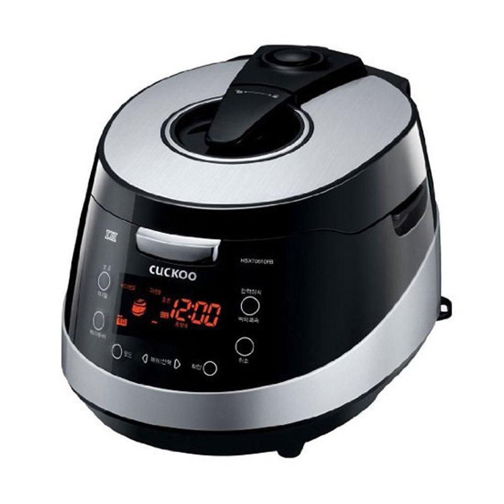 Cuckoo Crp Hsxt0610fb 6 Cups Electric Pressure Rice Cooker Warmer Voice Guide Black 220v Korea E Market
