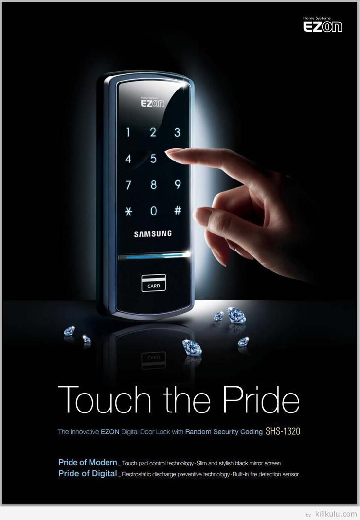 Samsung Digital Door Lock Shs 1321 Security Ezon Keyless