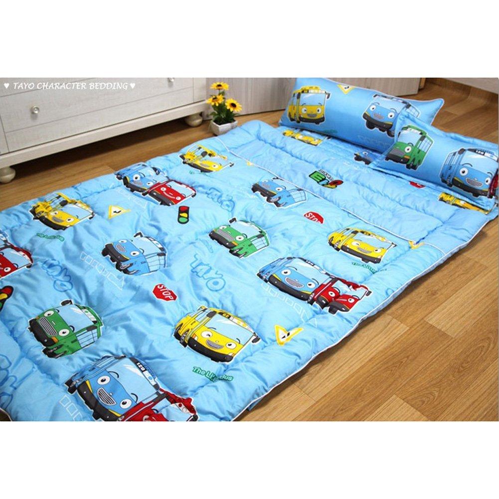 [Yobebe]Tayo Bus Cotton Thin Wadding Bedding Cover ...